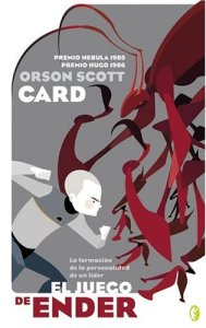 La portada del libro de Card